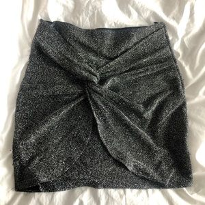 Shimmery Skirt with Knot